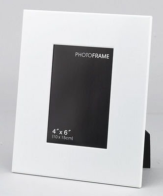 White Matte Personalized Engravable Photo 4x6 Picture Frame ...