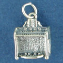 Music: Pipe Organ Sterling Silver Charm Pendant