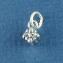 Present for Birthday, Christmas or Wedding 3D Sterling Silver Charm Pendant