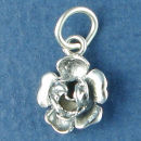 Flower Charm Sterling Silver Image