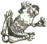 Sitting Frog Charm Sterling Silver Pendant