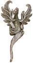 Dragon Medium 3D Sterling Silver Charm Pendant
