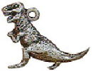 Dinosaur Charm Sterling Silver Image