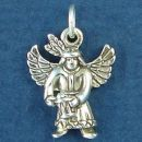 Indian Guardian Angel Charm Sterling Silver Pendant