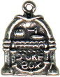 Music: Jukebox 3D Sterling Silver Charm