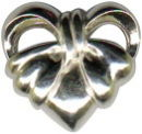 Heart Slide Sterling Silver Charm