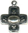 Cross Sterling Silver Charm