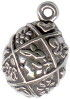 Easter Egg Sterling Silver Charm
