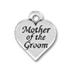 Mother of the Groom Charm Sterling Silver