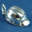Construction Hat Charm in Sterling Silver