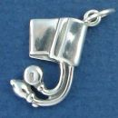 Medical Blood Preasure Cuff Sterling Silver Charm Pendant Used by Nurses