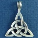 Celtic Knot Circle of Life Sterling Silver Pendant Medium