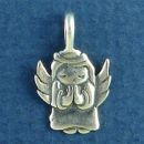 Praying Small Angel Charm Sterling Silver