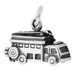 Fire Truck Charms Sterling Silver