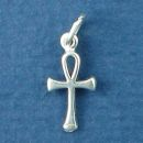 Ankh Key of Life Egyptian Religious Symbol Sterling Silver Charm Pendant