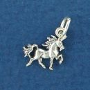 Unicorn Sterling Silver Mini Charm Pendant