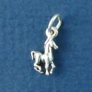 Colt Pony Horse Sterling Silver Charm Pendant