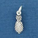 Pineapple Sterling Silver Mini Charm Pendant