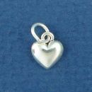 Heart Sterling Silver Tiny Charm Pendant