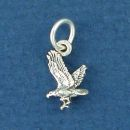 Eagle Mini Charm Sterling Silver Pendant