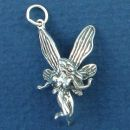 Fairy Fling 3D Sterling Silver Charm Pendant