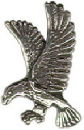 Eagle Sterling Silver Charm Pendant