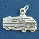 RV Travel Trailers Charm Sterling Silver