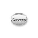 Inspiration Message Word Beads: Oneness Sterling Silver Charm