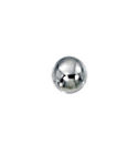 3mm Smooth Round Seamless Sterling Silver Bead with .9mm Hole Sold in Packages of 100 Pieces
