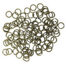 Bronze Open Jump Rings 8mm 16 Gauge Bulk pack of 200
