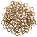 Copper 16 Guage Jump Rings Bulk 1.2mm by 8mm pack of 200