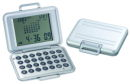 Brief Case Alarm Clock, Calendar, World Time and Calculator