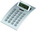 Desk Top Calculator with Adjustable Tilt Display