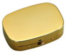 Pill Box in Gold