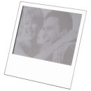 "Picture Frame fits 5"" x 7"" Polished Silver Tone"