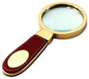 Leather Magnifier