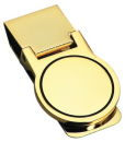 Gold Tone Money Clip