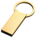Single Key Chain in Gold
