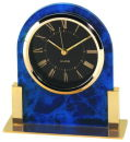 Table Clock in Blue