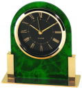 Table Clock in Green