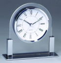 Table Clock in Silver