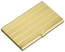 Business Card Case in Gold