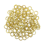 Gold Plated Open Jump Rings 8mm 18 Gauge Bulk pack of 200