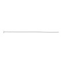 "Headpin in Sterling Silver 0.02 Diameter 1"" Length Sold in Packages of 100"