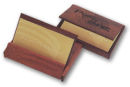 Business Card Case in Rosewood Laser Engraved 25 piece minimum order