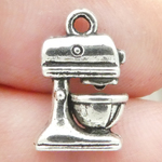 Mixer Charm Antique Silver Pewter