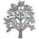 Tree of Life Pendant in Antique Silver Pewter