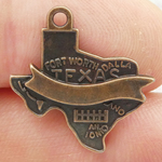 Texas Charms Wholesale in Antique Copper Pewter