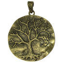 Bronze Tree of Life Pendant in Pewter