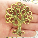 Tree of Life Pendants Wholesale in Gold Pewter